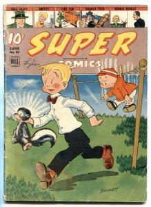 Super Comics #85 1945- Dick Tracy- Brenda Starr G/VG