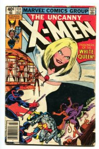 X-Men #131 1980 2nd Dazzler White Queen cover- G