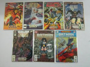 Batman Legends of the Dark Knight Annual #1-7 8.0 VF (1989-97)