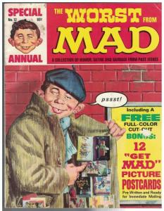 WORST FROM MAD 12 G-VG 1969