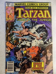 TARZAN LORD OF THE JUNGLE # 27