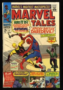 Marvel Tales #11 VF- 7.5 White Pages Daredevil Spider-Man!