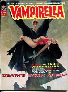 Vampirella #12 1971-Warren-horror-Vampi by Gonzales-menacing cover-VF-