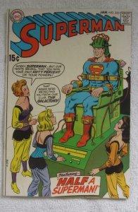 Superman #223 (Jan 1970, DC) Curt Swan pencils F/VF 7.0