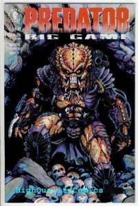 PREDATOR : BIG GAME #1, NM+, Hunter, Monster, Beast, Dorkin, 1991, more in store
