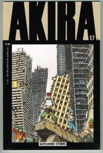 Akira #17 (1988) - VF *1st Print Squarebound TPB Manga*
