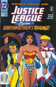 Justice League Europe #42, NM (Stock photo)