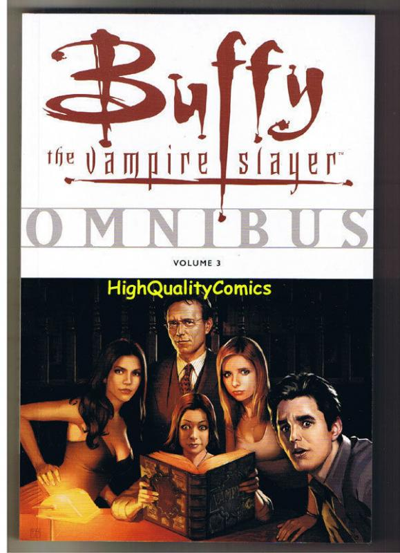 BUFFY the VAMPIRE SLAYER Omnibus 3 TPB, GN, 1st, NM,  unread, 2008