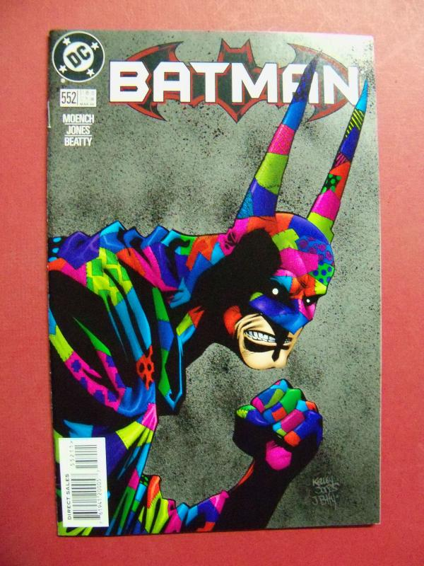 BATMAN #552 (Near Mint 9.4 or better) DC COMICS  1998