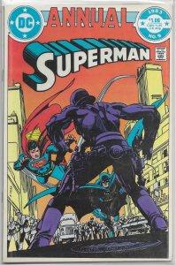 Superman   vol. 1  Annual   # 9 FN Batman, Lex Luthor, Maggin/Toth, Andru cover