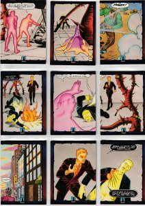 Dark Dominion # 0 Trading Cards  Rare Steve Ditko painted art ! 54  Cards !
