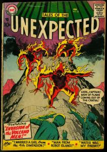 TALES OF THE UNEXPECTED #22 1958 DC JACK KIRBY MANEELY G