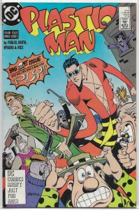 Plastic Man (vol. 3, 1988) #1 of 4 VG Foglio/Barta