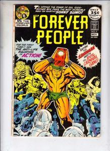 Forever People #5 (Nov-71) FN/VF Mid-High-Grade Big Bear, Beautiful Dreamer, ...