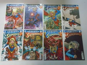 Supergirl comic lot 26 from #1-15 with variant covers 8.0 VF (2016-18)