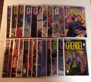 Grendel 3 9-25 27-32 Near Mint Lot Set Run Comico