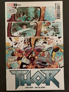 THOR 2  walmart variant cover Marvel comic book