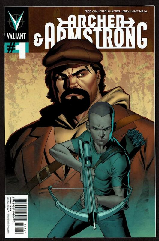 Archer & Armstrong #1 (2nd series)  9.4 NM