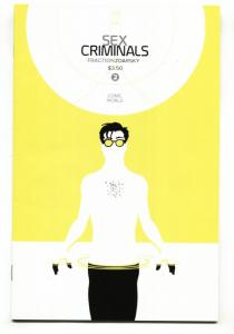 Sex Criminals #2-comic book-Second issue-Image-2013
