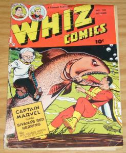 Whiz Comics #138 october 1951 - captain marvel - ibis the invincible - fawcett