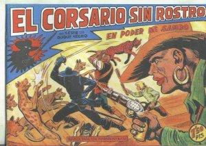 El Corsario sin Rostro, facsimil numero 21: En poder de Sambo