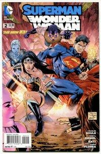 Superman Wonder Woman #2 (9.6) 2013 Modern Age DC