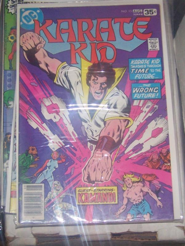 karate kid 15 dc 1977 legion of superheroes +kung fu kamandi last issue