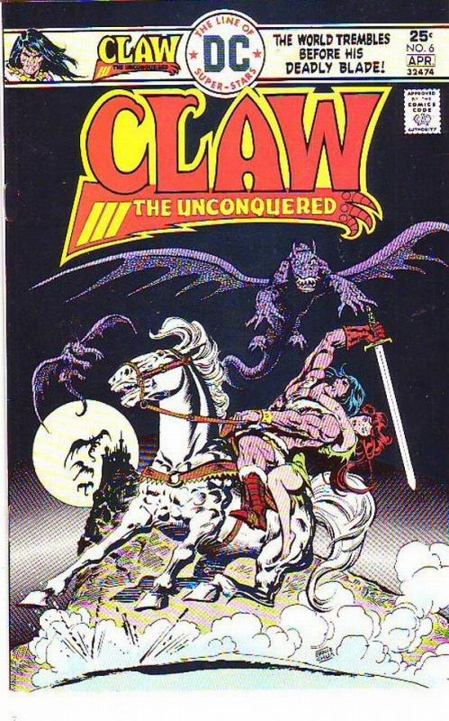 Claw the Unconquered #6 (Apr-76) NM- High-Grade Claw the Unconquered