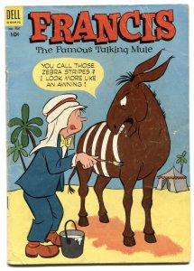 Francis the Famous Talking Mule- Four Color Comics #501 VG