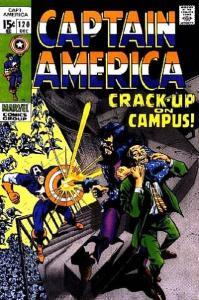 Captain America (1968 series) #120, VG- (Stock photo)