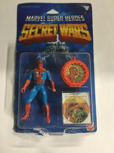 Marvel Super Heroes Secret Wars Spider-man Red And Blue Suit Mattel