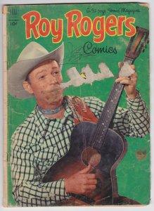 Roy Rogers Comics #59 (Nov 1952) 1.0 FR Dell Comic Book Western