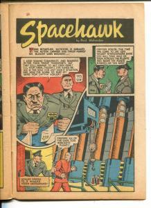 TARGET VOL 2 #9-1941-NOVELTY PRESS-SPACEHAWK-WOLVERTON-HITLER-poor