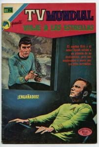 Star Trek #5 (T.V. Mundial #241) FN- 5.5  Scarce Mexican comic book by EN