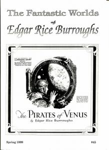 Fantastic Worlds of Edgar Rice Burroughs #45 1999-Mantania-Denis Lee-VF