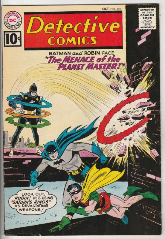 Detective Comics #296 (Oct-61) FN/VF Mid-High-Grade Batman, Robin