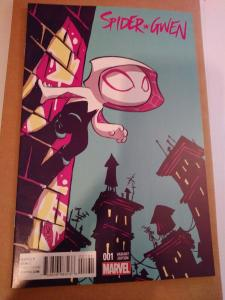 2015 Spider-Gwen Vol 2 #1 Skottie Young Baby Variant Edition Unread Copy