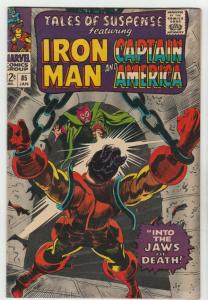 Tales of Suspense #85 (Jan-67) NM- High-Grade Iron Man, Captain America