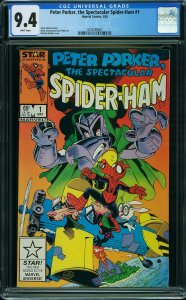 Peter Porker, the Spectacular Spider-Ham (Marvel, 1985) CGC 9.4