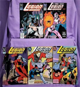 Tom McCraw LEGION OF SUPER-HEROES #42 - 46 Stuart Immonen (DC, 1993)!