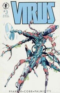 Virus #3 VF/NM; Dark Horse   save on shipping - details inside