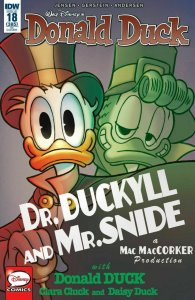 DONALD DUCK #18 1:10 RETAILER INCENTIVE VARIANT COVER NM.