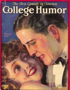 College Humor 5/1925-Rolf Armstrong-Good Girl Art-pulp fiction-Booth-G