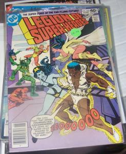 LEGION OF SUPER HEROES # 264 DC june 1980 dagon sunboy shadowlass