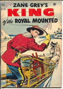King of The Royal Mounted-Four Color Comics #363 1951-Dell-Zane Grey-RCMP-VG