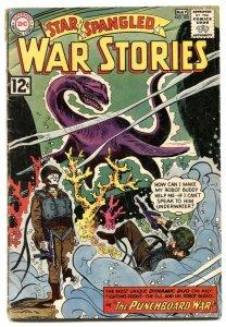 Star Spangled War Stories #102 1962- Lichtenstein- dinosaur VG-