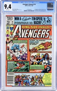 The Avengers Annual #10 (1981) CGC Graded 9.4 First Rogue