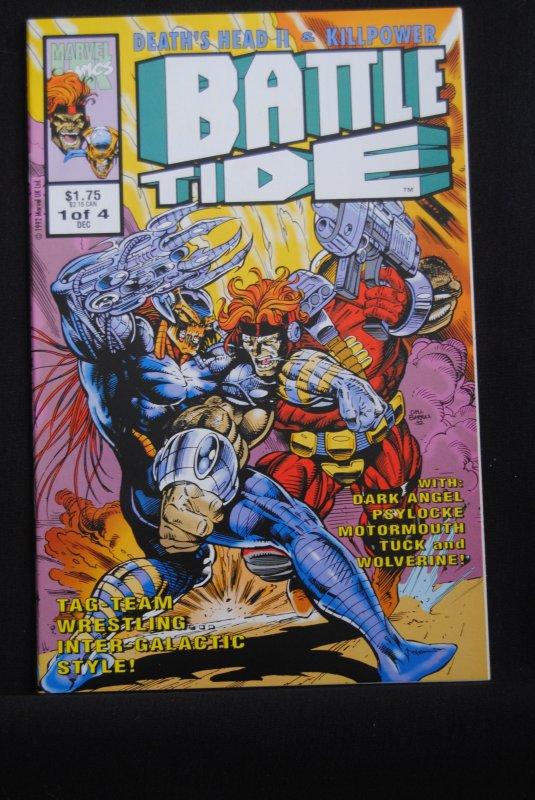 Battle Tide, #1, Deaths Head, Killpower,  9.4