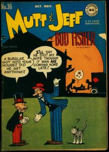 Mutt and Jeff #36 1948-Bud Fisher- DC Golden Age Comic VG/FN