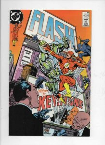 FLASH #32, VF/NM, Loebs, LaRocque, 1987 1989, more DC in store